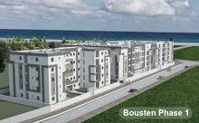شقة 62م للبيع - اقامة بستان- الحمامات