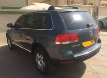 Blue Volkswagen Touareg 2007 for sale
