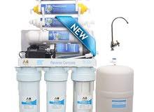 افضل فلتر مياه منزلي 8 مراحل امريكي بالأردن بسعر الكاش على نظام 3 دفع