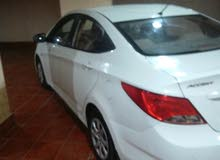 Automatic White Hyundai 2015 for sale