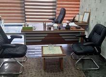 مكتب  وخزانة مدير مع كرسي مدير
