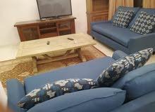 شقة مفروشه للايجارالشهري في السابع- 110 م - فخمة جدا طابق ثاني