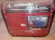 مولد كهربائي بنزين ايطالي جديد ثلاث فاز   (Lombardy Italy MH 9000)