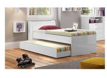 سرير مزدوج مفرد جديد لم يفتح بعد بالكرتونه