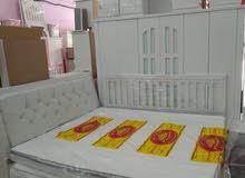 غرفه نوم جديدة مخفضة 1200ريال 6قطع