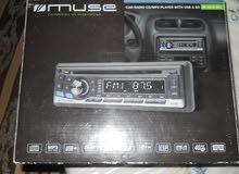 Muse M-1010 MR Autoradio CD/MP3 Noir