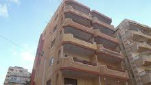 شقة طابق اول بحري بجوار الدفاع الجوي مسجلة في النخيل