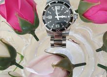 ساعة لونجين جديده مع علبتها وأوراقها من الوكاله  سعرها 700دوسعرها في الوكاله1100