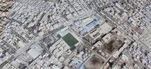 أرض واجهة مميزة للبيع جانبى من عبد السلام عارف 175 م