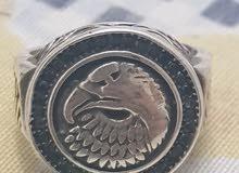 خاتم فضة رجالي عيار 925