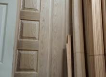 الروعي يوجد جميع انواع الابواب الخشبيه جميع المقاسات والتوصيل في اي مكان