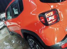 Jeep Renegade 2016 For sale - Orange color