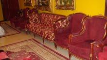 sofa set big sofa and four single chairs    exelent condtion