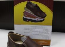 احذية صنع الخليل نابولي ونبيل جلد طبيعي اصلي خدمة التوصيل متوفرة
