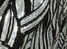 فستان سهرة أسود  فاخر