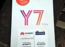 تلفون Y7لبيع او لبدل