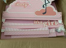 baby girl welcoming decoration