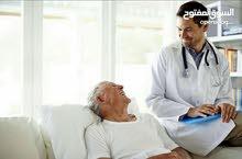 مطلوب ممرضة للعناية بمريضة كبيرة في السن