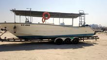 10.18 meter fiber glass motorboat