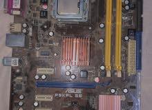 motherboard intel Asus P5KPL SE with intel pentuim cpu