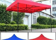 مظلة للبيع 6 متر في 3 متر زي اللي في الصورة اللون ازرق
