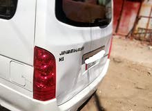 سياره جنبي H1موديل 2014 سياره مكفوله من الصبغ ماعدا الباب الخلفي