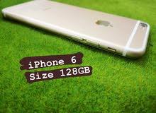 ايفون 6 - GB128 gold