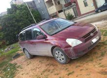 Automatic Red Kia 2008 for sale