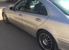 Silver Mercedes Benz E500 2004 for sale
