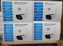 4G Low power solar bullet camea