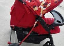 عربة اطفال مستخدمه فتره بسيطه جدا للبيع