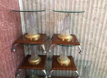 طاولات زجاج