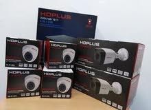كاميرات مراقبة 4 داخلي و 2 خارجي