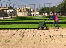 كادرتجهيز و تنفيذ كافه انواع الملاعب بالعشب الاصطناعي