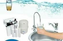 فلاتر مياه منزلي RO  كاش او اقساط