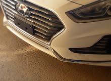 Hyundai Sonata 2018 For sale - White color