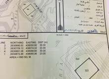ارض سكنية بولاية ينقل وادي المعيدن بالقرب من نفط عمان