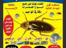 مكافحة وابادة الحشرات