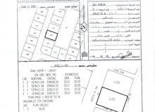ارض مفتوحه 3 اتجاهات خلفها منتزه