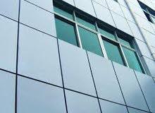 Aluminium cladding,fire rated doors