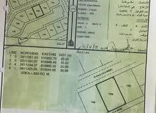 للبيع ارض سكني في المعبيله السادسه مستوية تماما