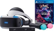 playstation 4 vr full set with tow controllers and 2 games (vr world , residentevil baiohazard)