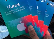 ITunes 50$ Gifr Card