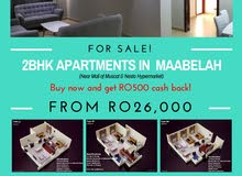 For Sale! 2BHK Apartments in Maabelah  See More at: https://om.opensooq.com/en/post/create
