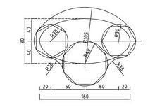 مهندس  يرسم   رسم هندسي  اللوحة ب 6000 و اكو توصيل  اقرة الاعلان