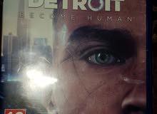 شريط Detroit become human للبيع نظيف شبه جديد
