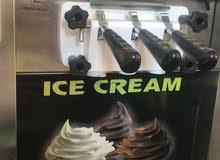 مكينة ايس كريم ، الة ايس كريم Ice cream machine ( جديده )