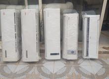 بيع 4 مكيفات 12000 LG و مكيفين ماندو ومكيفين يوجن ومكيف TACHIAKE