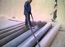 رماله هواءلتنظيف جميع انواع الحديد والصاج والرخام بسعرمميز للمواقع الكبرى او العمل المفتوح سعر مميز