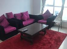 بسعر 2800 غرفه وصاله مفروشه للايجار الشهري في عجمان بأبراج السيتي تاور شامل